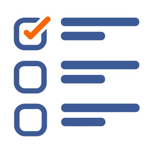 Zināšanu pārbaude ikona